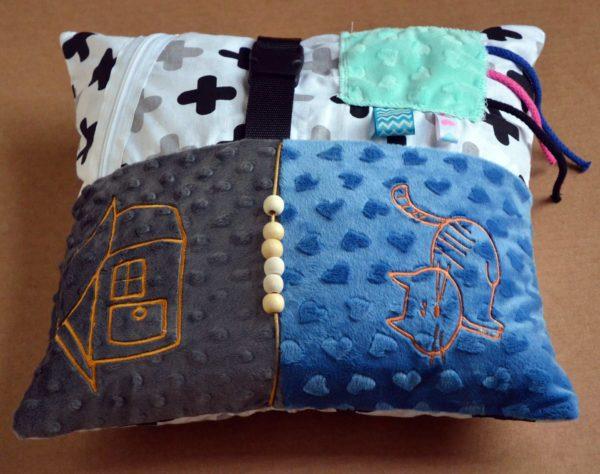 Poduszka sensoryczna dla chorych na demencję i alzheimera - cała