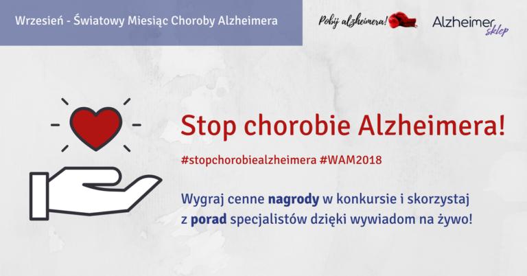 Wydarzenia w ramach Światowego Miesiąca Choroby Alzheimera
