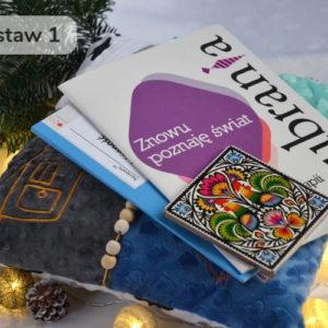 Zestaw świąteczny, prezenty dla osoby z demencją, chorobą Alzheimera, wariant 1