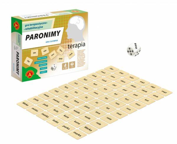 Paronimy - gra dla seniorów