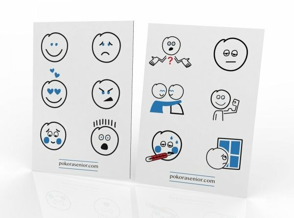 plansza komunikacyjna - emocje