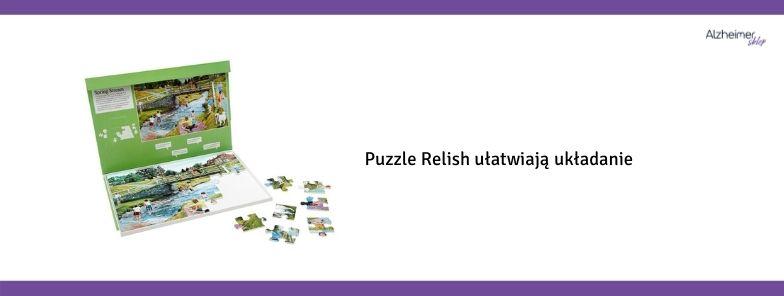 Puzzle dla seniorów Relish