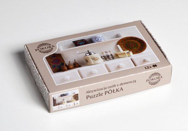 Puzzle dla seniorów z półką w opakowaniu
