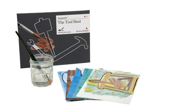 Aquapaint szopa z narzędziami